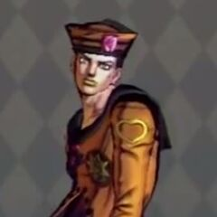 Josuke Costume C in <i>All Star Battle</i>