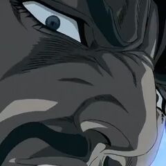 Zeppeli, while Dio is countering his Ripple.