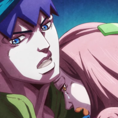 Kyoka being carried out by Rohan.