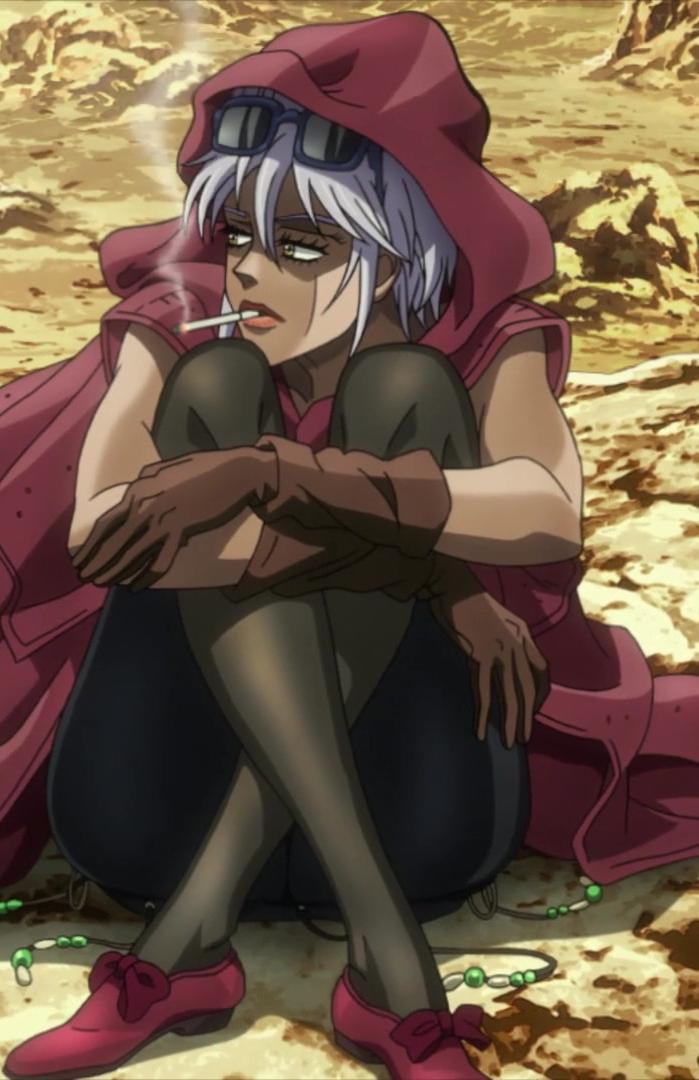 Mariah in the anime