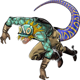 Diego Brando in Dinosaur form's Illustration, <a href=