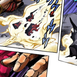 The last remains of Requiem fade as Diavolo returns to his body