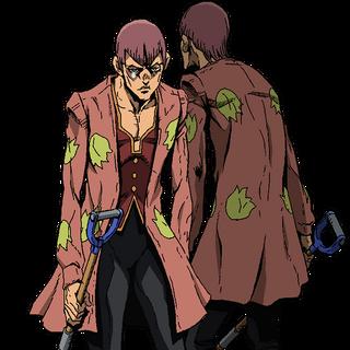 Luca full body key art in the anime