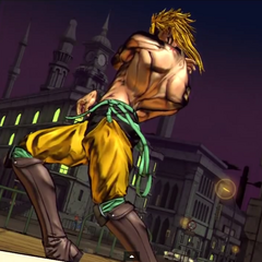 Shadow DIO alternate costume in <i><a href=