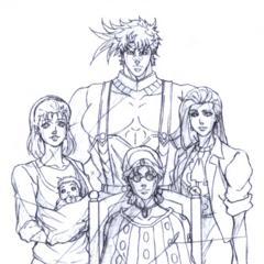 Семейный портрет Генга