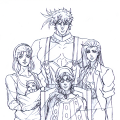 Family Portrait Genga