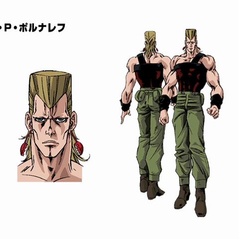 Concept art for the OVA