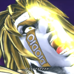 DIO's death, mirroring his defeat at the end of <a href=