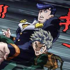 Josuke, under the control of <a href=