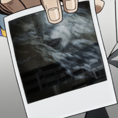 Jotaro reveals a spirit photo of a <a href=