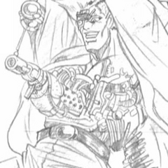Stroheim Revealed As A Cyborg With a Gatling Gun In His Stomach