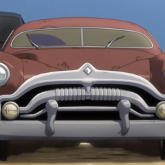ZZ's car before he uses his Stand