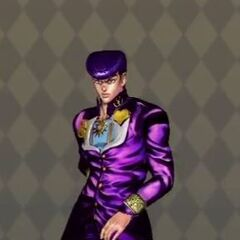 Josuke Costume B in <i>All Star Battle</i>
