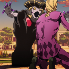 Giorno finds out <a href=