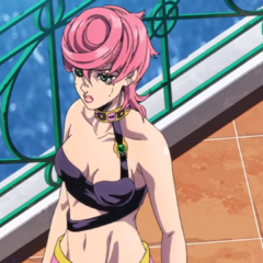 Trish goes to be alone after requesting specific items from her bodyguards