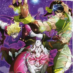 JoJo's Bizarre Adventure: The Animation Cover