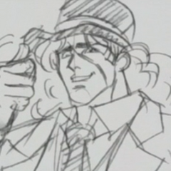Speedwagon As He Appears In The OVA's Timeline Videos