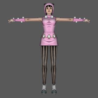 Daiya's Model From <a href=