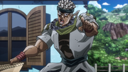 Avdol's dad anime