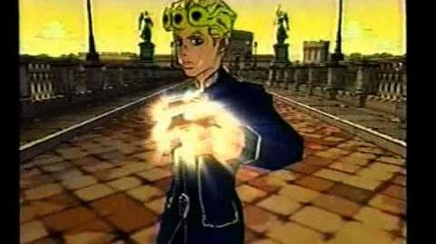 CM カプコン ジョジョの奇妙な冒険 黄金の風 (PS2)