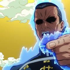 Okuyasu interrogates <a href=