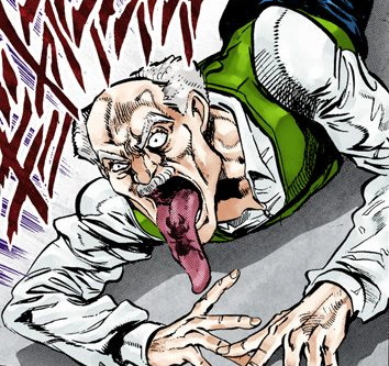 Gray fly stardust crusaders color c123 crop