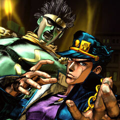 Jotaro and Star Platinum in <i>ASB</i>