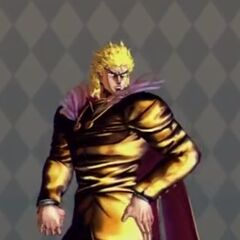 Dio Brando Costume B in <i>All Star Battle</i>