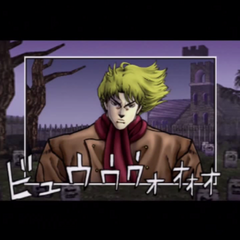 Dio, 13 years old, scowling over <a class=