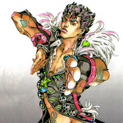 Kenshiro by Araki (Weekly Comic Brunch - Jan 8, 2007 Issue)