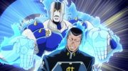 Okuyasu and The Hand