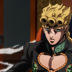 Giorno as the Boss of <a href=