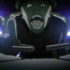 Stroheim laughing at <a href=