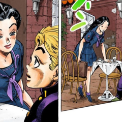 Yukako's first appearance, on a date with <a href=