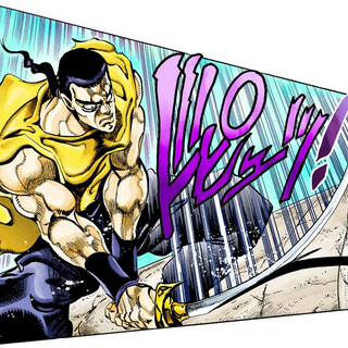 Fighting Polnareff