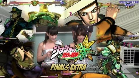 JoJo's Bizarre Adventure All Star Battle - Battle League Extra Jotaro vs Jonathan Josuke