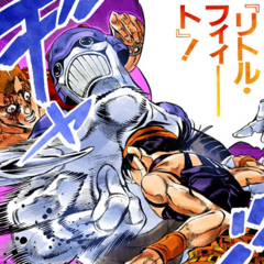 Little Feet attacks Narancia