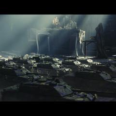 Bad Company's tanks advance.
