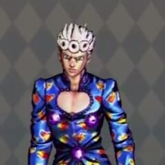 Giorno Costume B in <i>All-Star Battle</i>