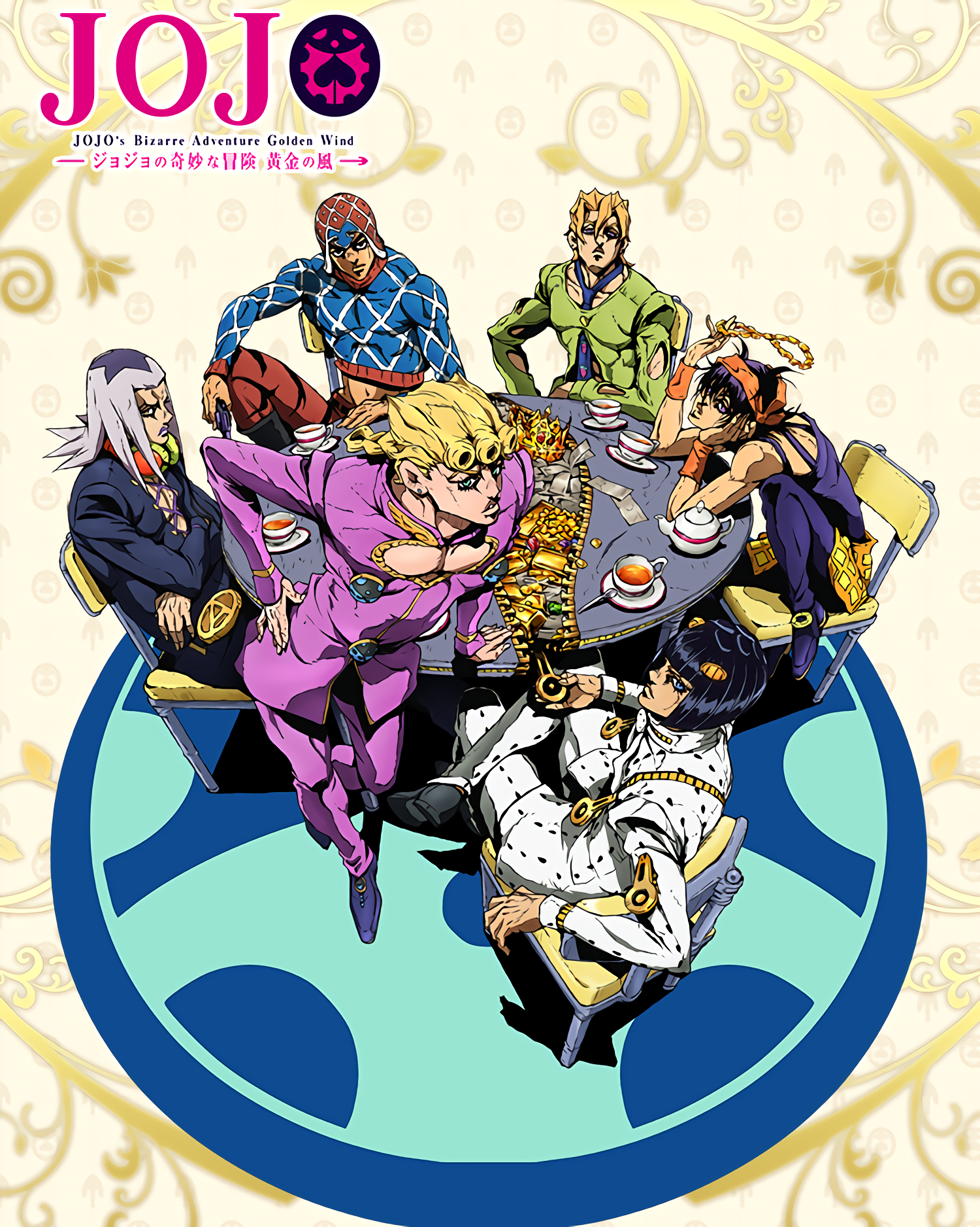 Image result for jojo's bizarre adventure golden wind