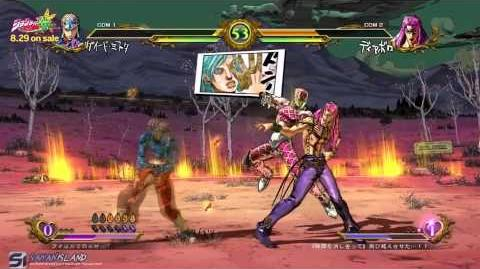 JoJo's Bizarre Adventure All Star Battle - Group F Full Matches HD