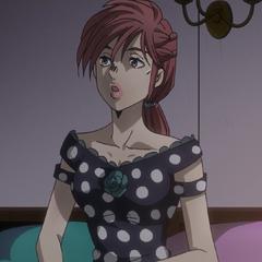 Shinobu's initial appearance.