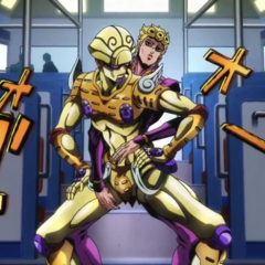 Giorno & Gold Experience, ready to fight <a href=