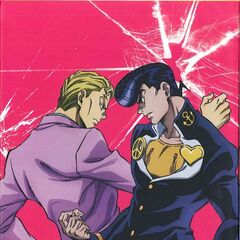 Kira and Josuke on Blu-Ray Set