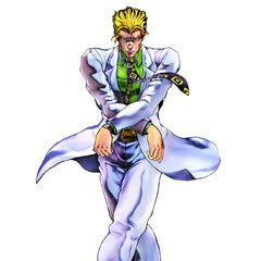 Yoshikage Kira render, <i><a href=