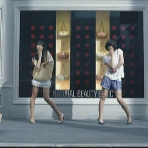 Perfume in their music video