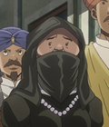Burqa Woman Anime