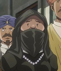 Burqa Woman Anime