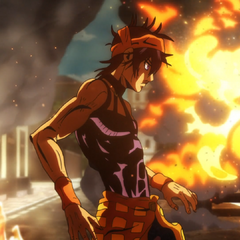 Setting a whole street on fire to find Formaggio