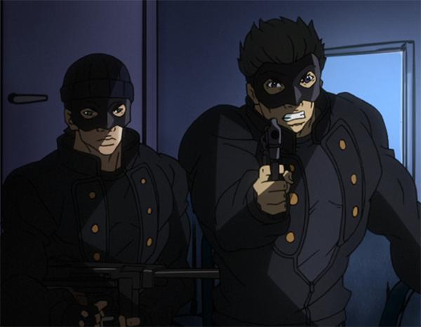SPW Plane Hijackers Anime